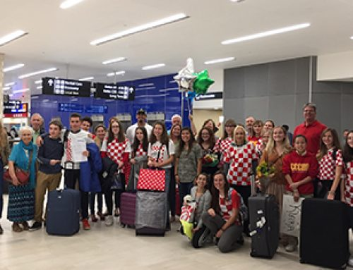 CCC Welcomes Students Visiting From Croatia