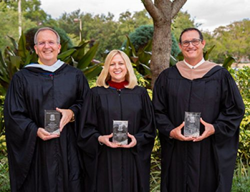 Four Recognized as Distinguished Alumni