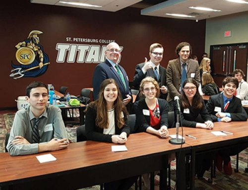 CCC Ethics Bowl Team Makes Finals at the 2019 Regional Ethics Bowl