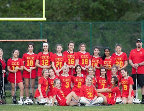 Girls Lacrosse Wins 1st Game of Inaugural Season