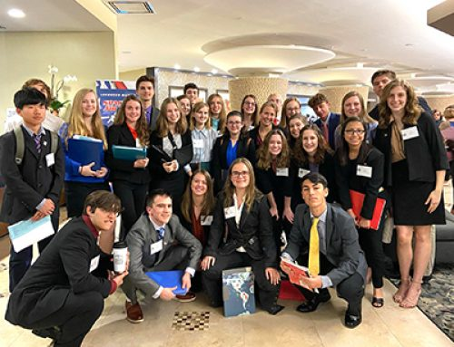 CCC Students Attend the 2020 State Model UN Nations Conference