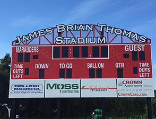 Stadium renamed for Alumnus James Brian Thomas '81