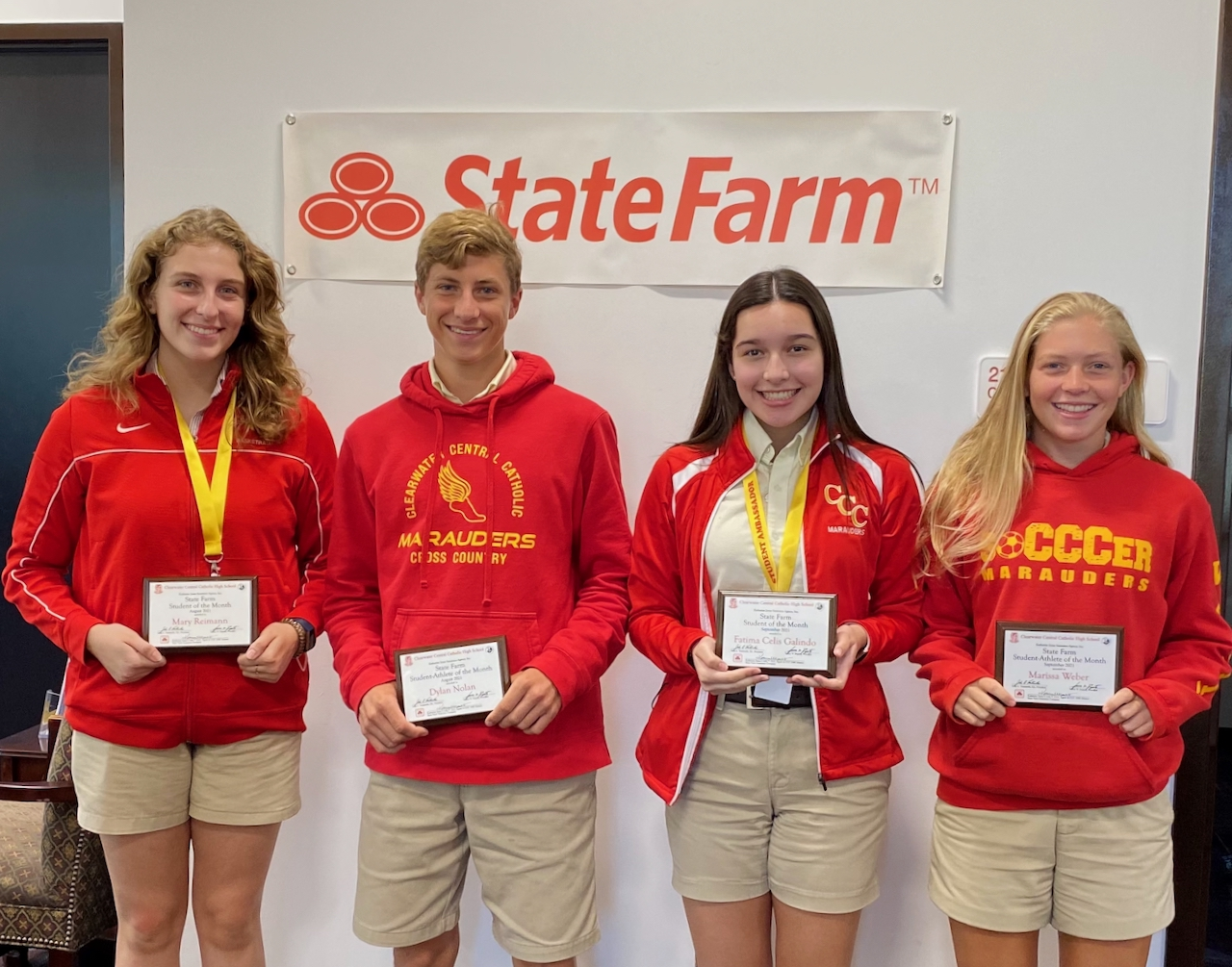 State Farm Students and Student-Athletes of the Month Named for August & September
