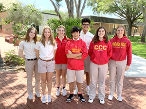 Record Group of Seven CCC Juniors Qualify for National Merit Program