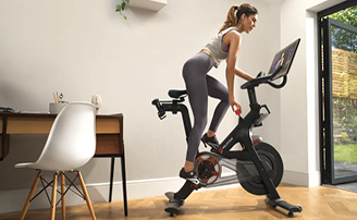Enter for a chance to win a  Peloton Bike+ Essentials package